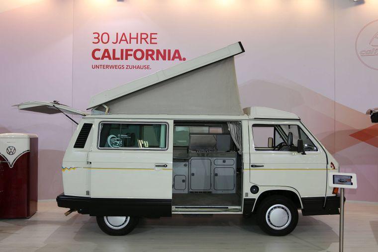 Einer der Ersten: VW T3 California aus dem Jahr 1988.