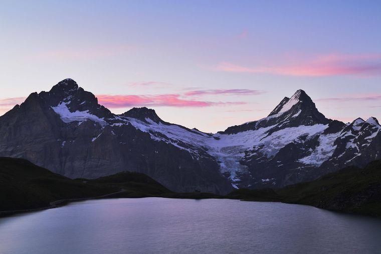 Das Bergpanorama des Grindelwaldes in der Schweiz siehst du in Szenen auf dem Planeten Alderaan in Episode III.