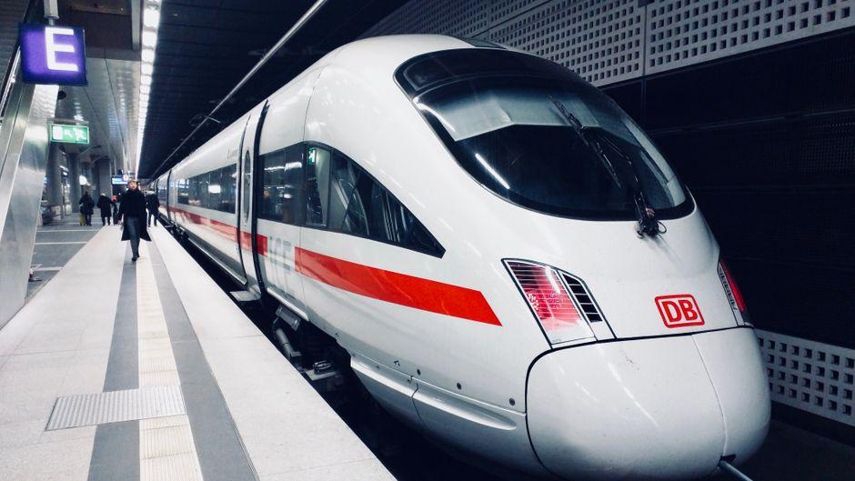 ICE der Deutschen Bahn.