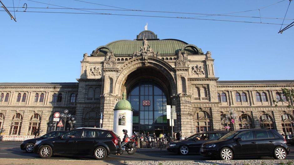 Der Nürnberger Hauptbahnhof belegt im Ranking den ersten Platz.
