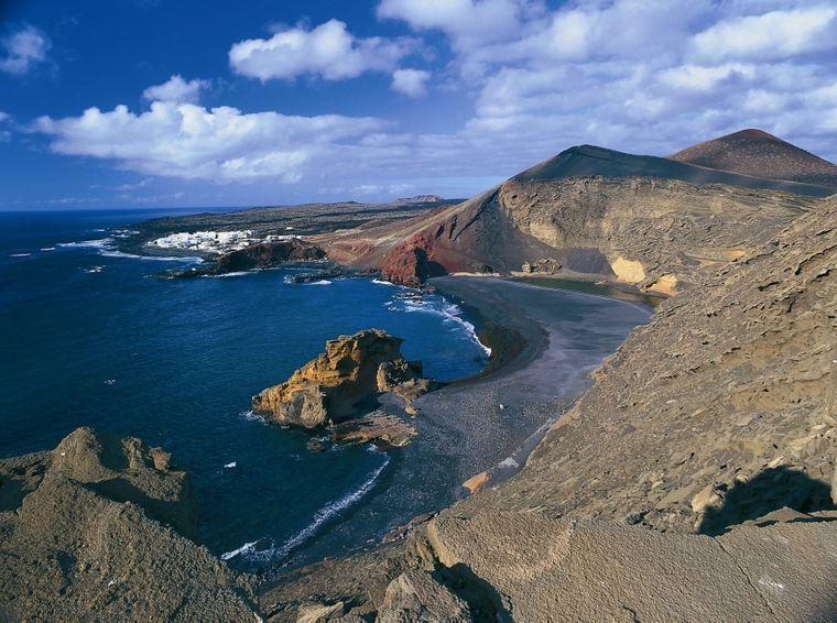 Die faszinierende Naturkulisse von Lanzarote.
