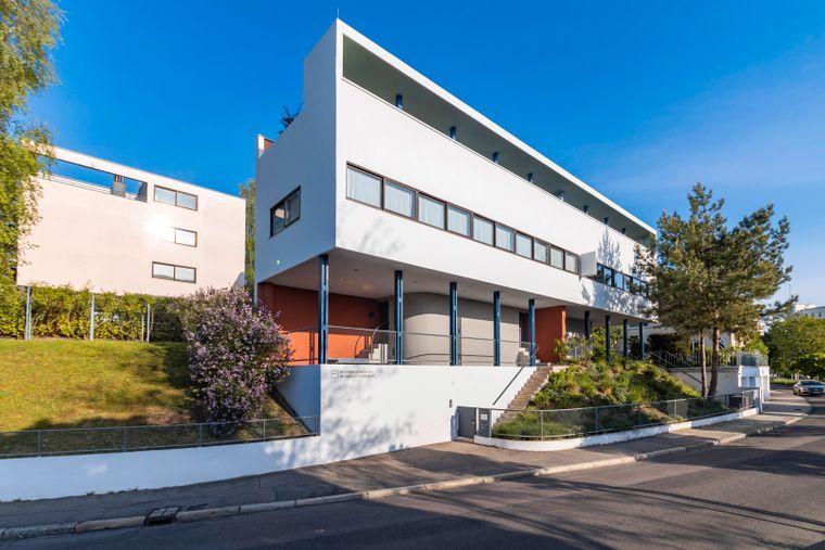 Das von Le Corbusier entworfene Gebäude in Stuttgart ist heute das Weissenhofmuseum, ein Museum für Architekturgeschichte.
