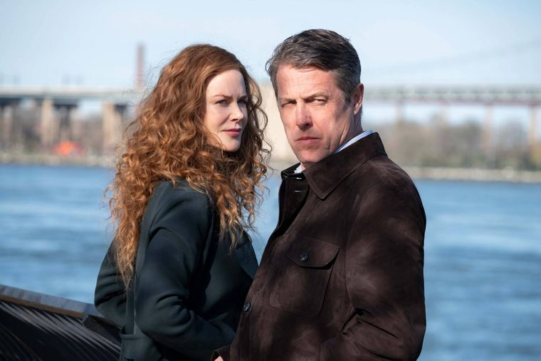 """Nicole Kidman und Hugh Grant in einer Szene der HBO-Serie """"The Undoing""""."""
