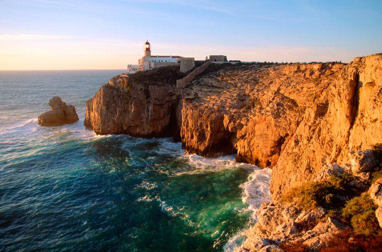 Das Cabo de São Vicente ist der südwestlichste Punkt Europas.