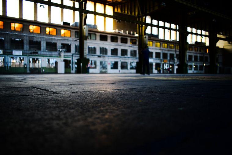 Tausende Quadratmeter sind bislang ungenutzt und stehen leer.