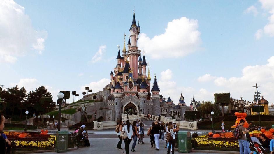 Schloss von Disneyland Paris.