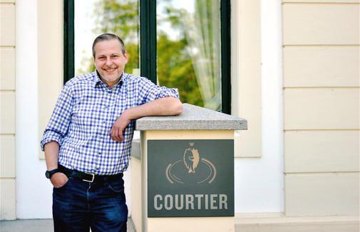 """Spitzenkoch Christian Scharrer erkochte für das """"Courtier"""" zwei Guide-Michelin-Sterne."""