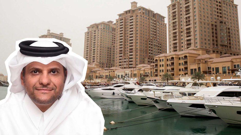 Scheich Saoud bin Abdulrahman al-Thani ist seit 2017 der katarische Botschafter in Deutschland.