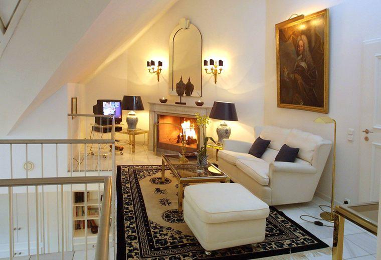 Luxus-Suite im Palace Hotel in München.