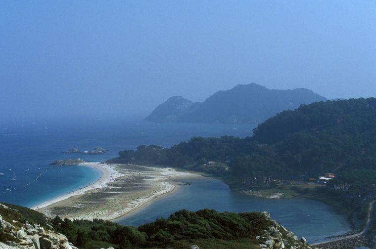 Illas Cíes: Die Praia das Rodas.