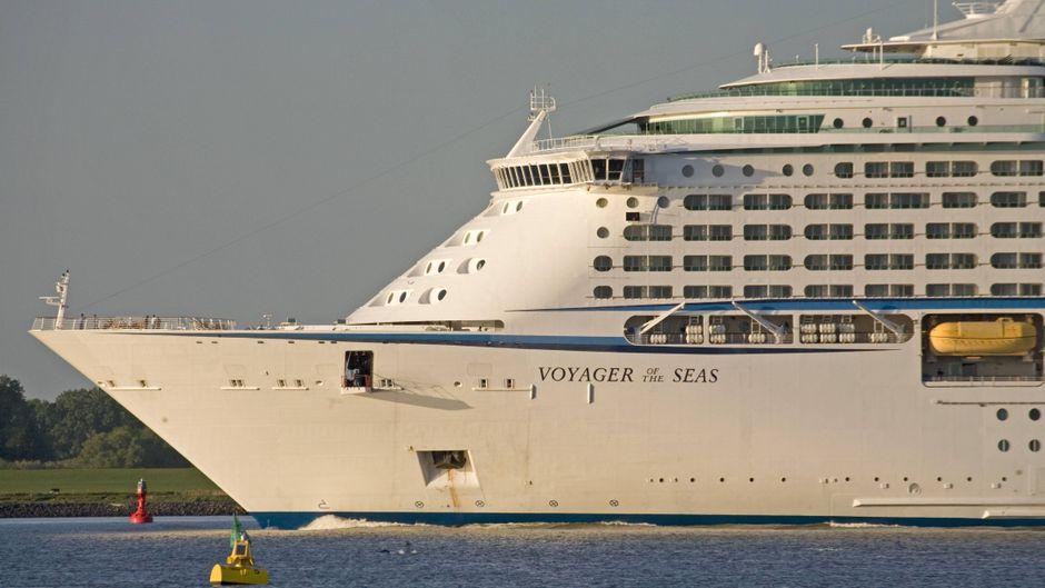 """Kreuzfahrtschiff """"Voyager of the Seas"""" der Reederei Royal Caribbean."""
