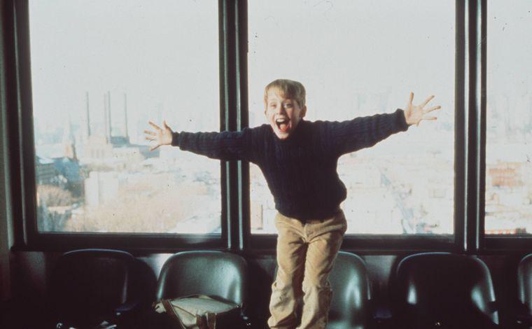 """Eine Szene mit Macaulay Culkin in """"Kevin allein in New York"""". (Symbolfoto)"""