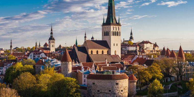 Die sehenswerte Altstadt von Tallinn ist Teil des Unseco-Weltkulturerbes.