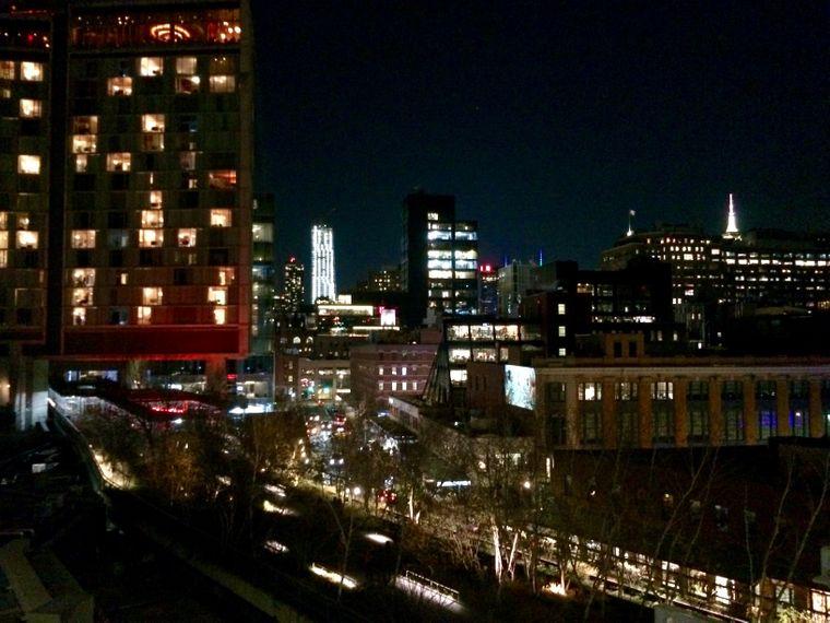 Vom Whitney Museum aus hast du einen fantastischen Blick über Manhattan.