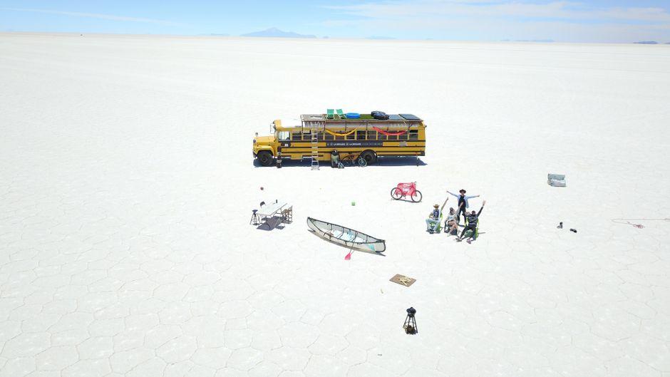 Die Betreiber des ungewöhnlichen Start-ups haben in der Pandemie die ersten Busse verkauft.