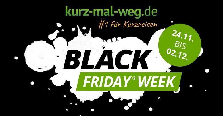 Black Friday bei kurz-mal-weg.de