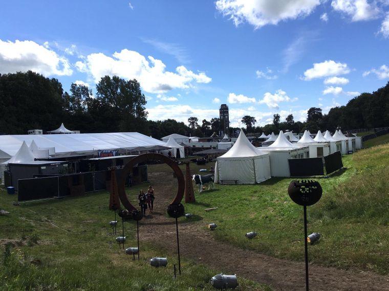 Festivalgelände in Wacken 2016
