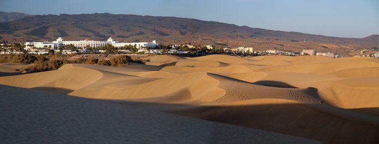 Die Dünen von Maspalomas verändern sich ständig.