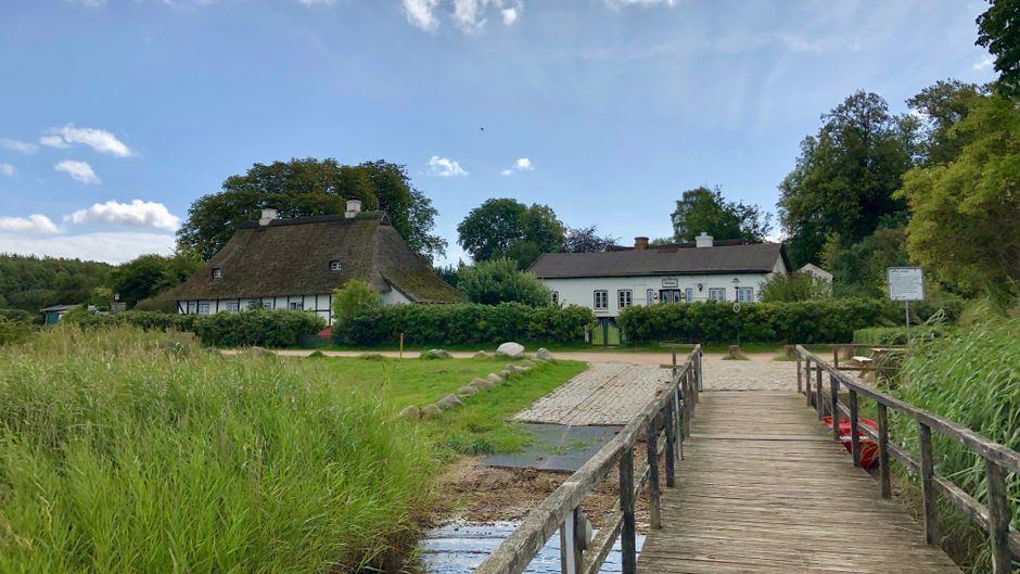 """Das Dorf Sieseby gilt als """"weiße Perle"""" an der Schlei. Wer vermisst in dieser Stimmung schon Großstädte und Flughäfen?"""