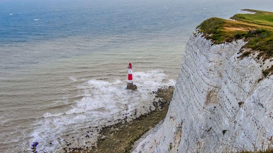 Der Kreidefelsen Beachy Head in England