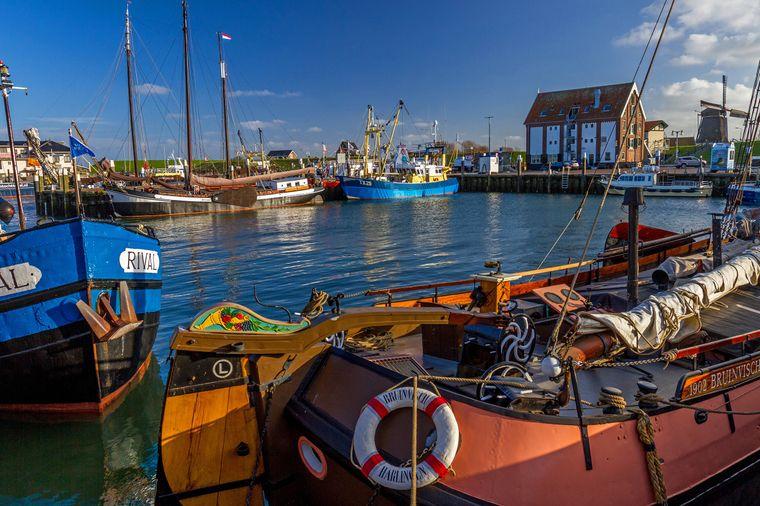 Der charmante Hafen von Oudeschild auf Texel.