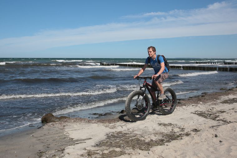 Auch für Radtouren eignen sich Kühlungsborn und seine Umgebung.