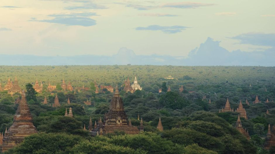 Die Tempelanlagen von Bagan in Myanmar sind berühmt – ein Paar sorgte mit einem Sexvideodreh dort für einen Skandal.