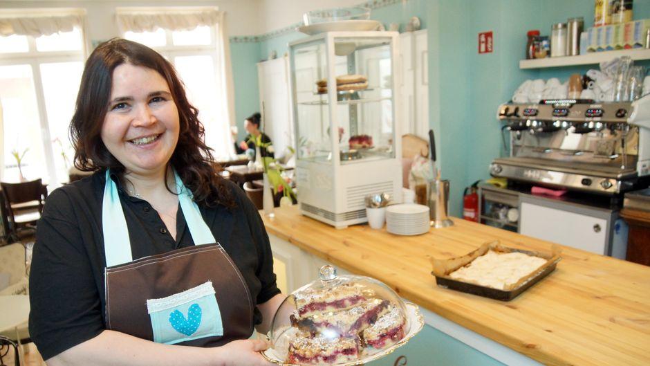 Bei Katharina Glücklich im Café Glücklich ist der Name Programm: verweilen, genießen, glücklich sein.