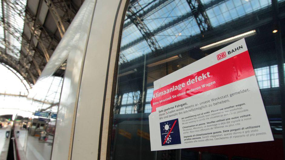 Klimaanlage defekt: Die Klimaanlagen der Deutschen Bahn – ein Thema für sich…