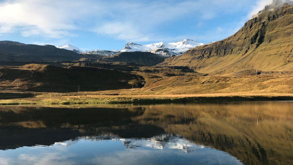 Die kargen, dünn besiedelten Vulkanlandschaften Islands berühren die Seele.