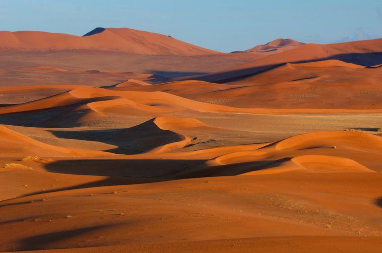 Die Namib, die älteste Wüste der Welt.
