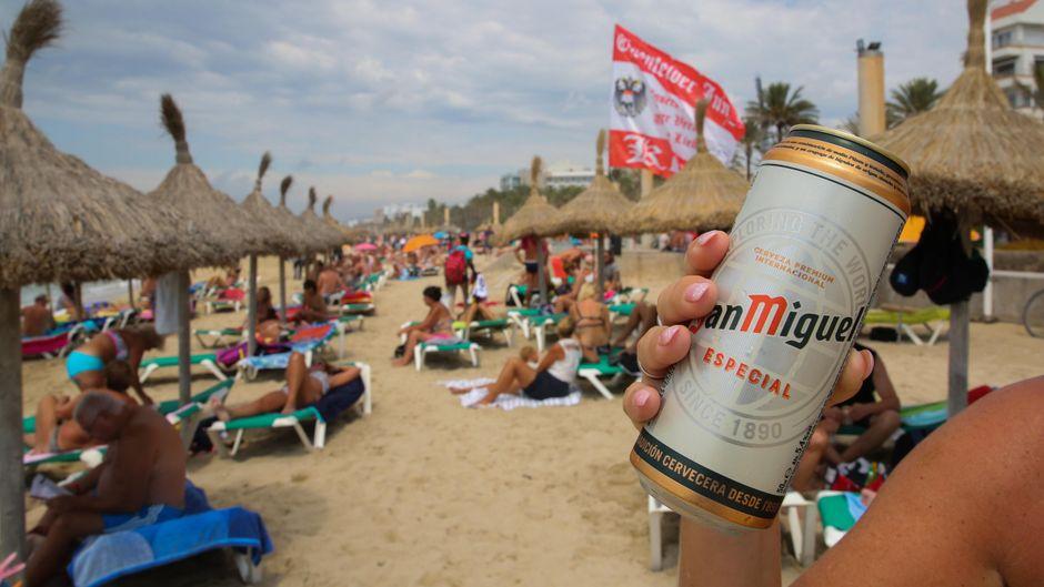 Mallorca geht gegen Sauftourismus vor. (Symbolfoto)