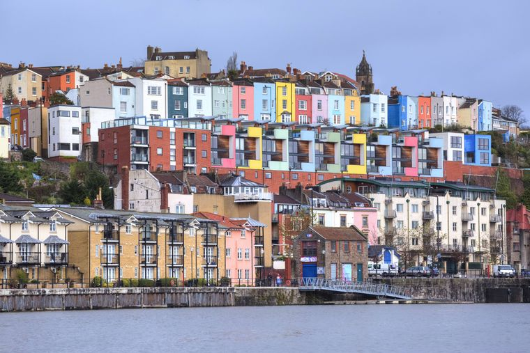 Bristols Hafen wird längst nicht mehr von den großen Schiffen angesteuert – heute ist er das Kulturviertel der Stadt.