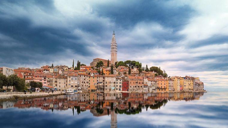 Rovinj Istrien, Kroatien.
