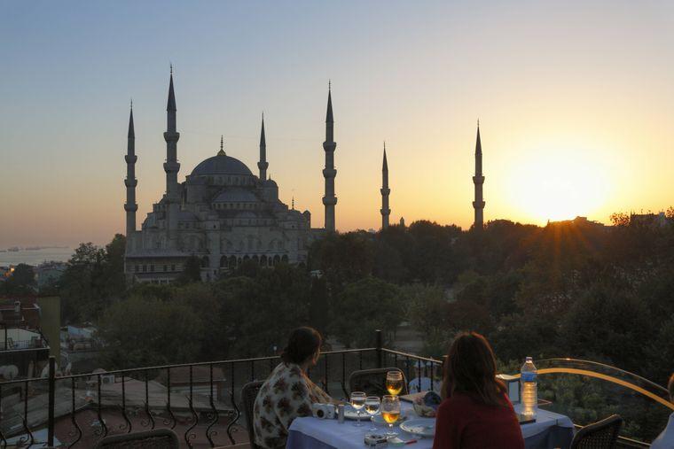 Der antike Teil Istanbuls ist vor allem für die vielen Weinquellen bekannt.