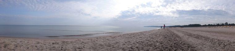 Genieße eine Auszeit: Am Schaaber Strand bist du ganz auf dich allein gestellt.