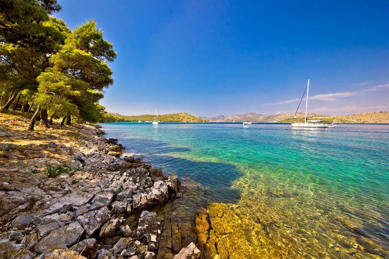 Traumhafte Bucht, oder? Findest du auf Dugi Otok.