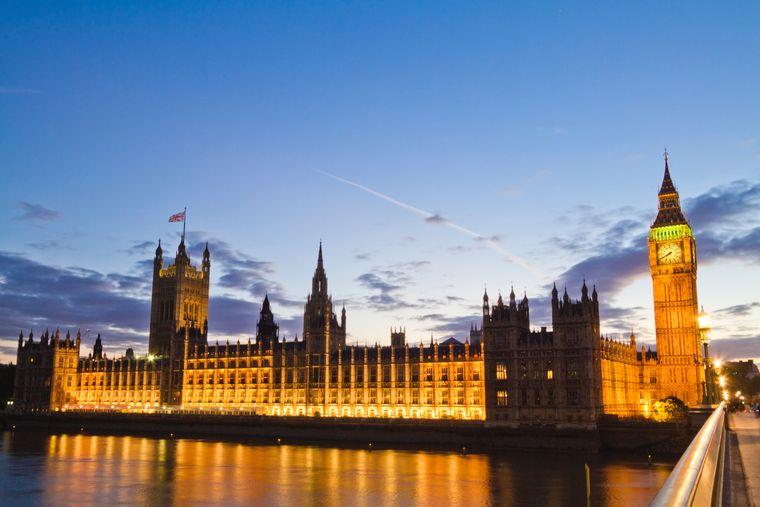 britisches Parlament.