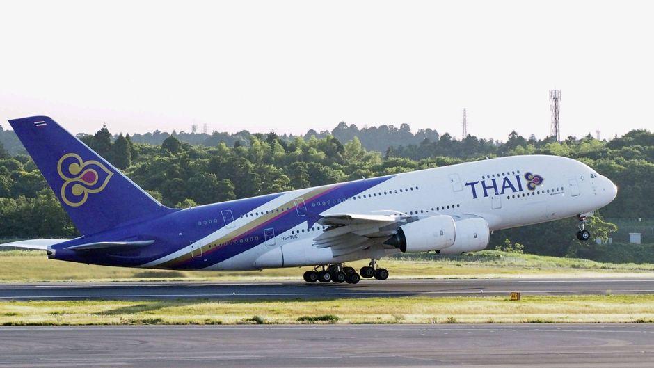 """Thai Airways bietet nun einen """"Flug nach nirgendwo"""" an. (Symbolfoto)"""