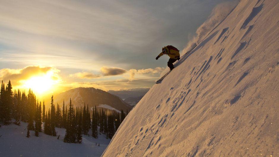 Skiparadies British Columbia in Kanada