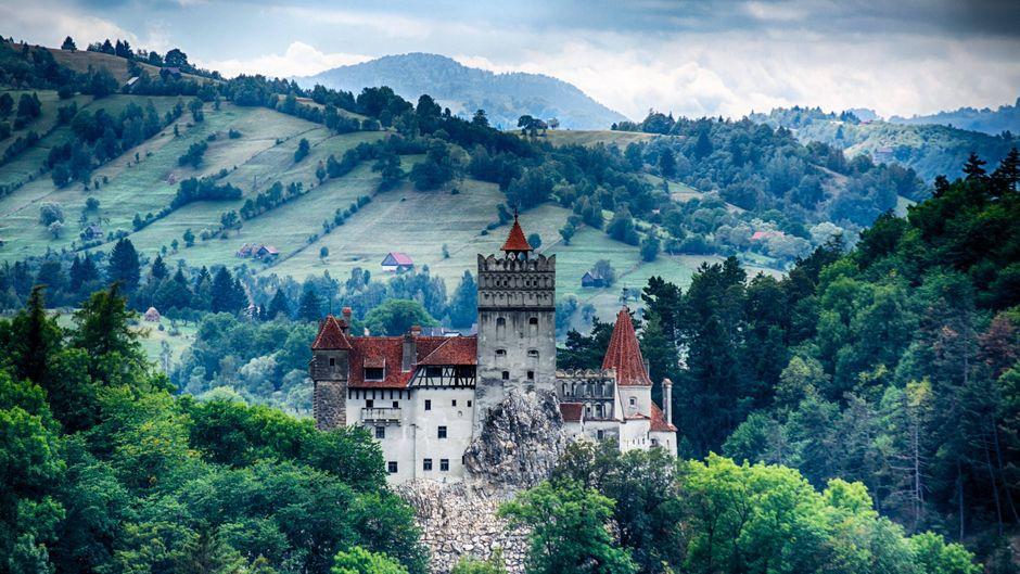 Das Schloss Bran zwischen Walachei und Transsylvanien.