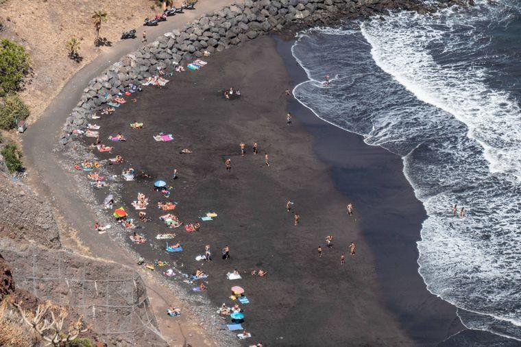 Playa de las Gaviotas, Teneriffa
