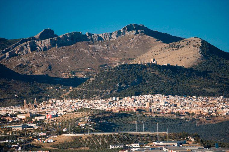 Die wunderschöne und einsame Provinz Jaén.