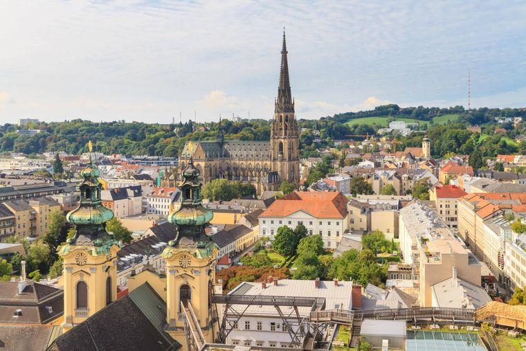 Die Aussichtskanzel im Mariendom ist einer von mehreren Aussichtsplätzen in der Stadt.