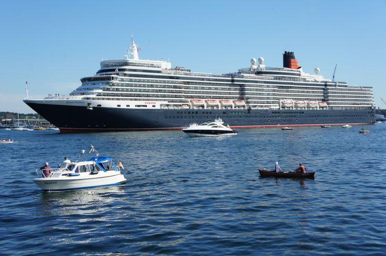 Auf der MS Queen Elizabeth ist Platz für gut 2.000 Passagiere.