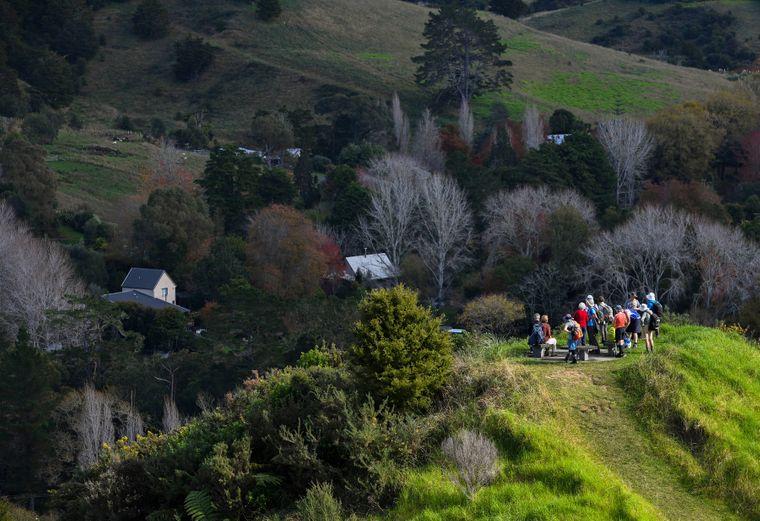 Etliche Wanderwege sind mittlerweile fest in der Hand von Touristen.