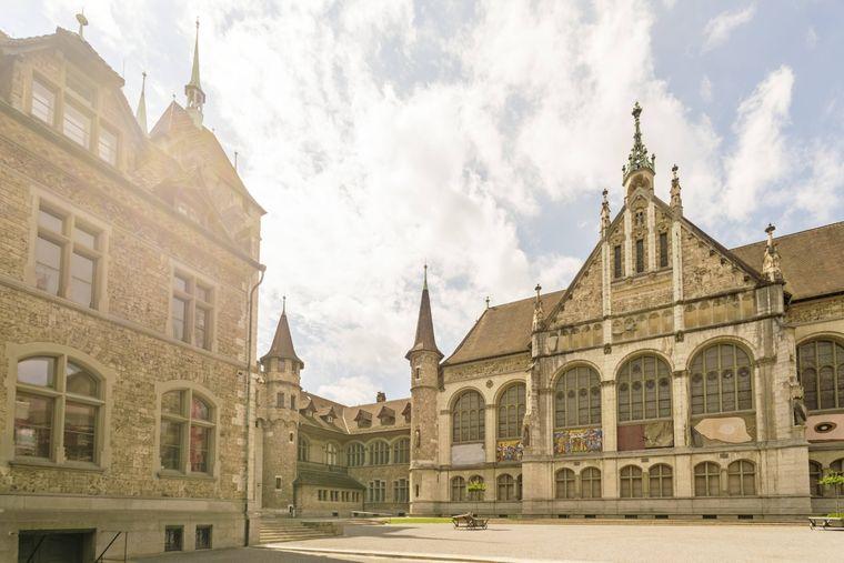 Das Züricher Landesmuseum.