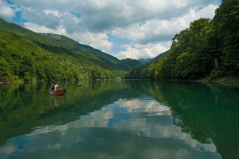 Der Biogradsko Lake in Montenegro.