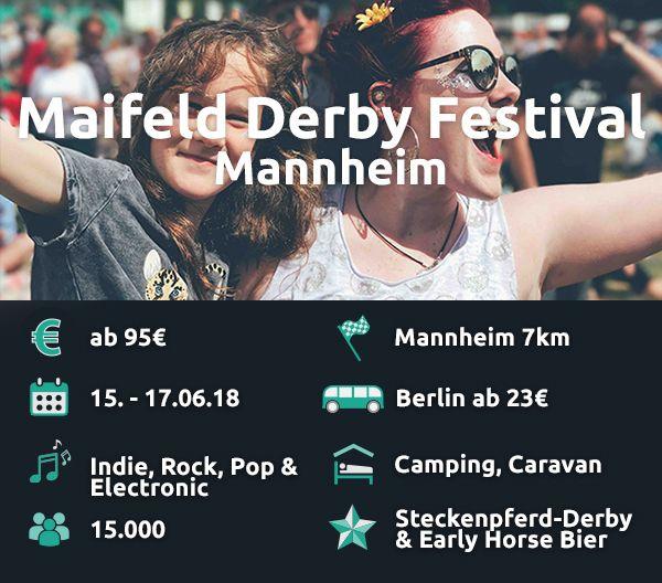 Das Maifeld Derby Festival hat seine eigene Währung und ein festivaleigenes Bier.