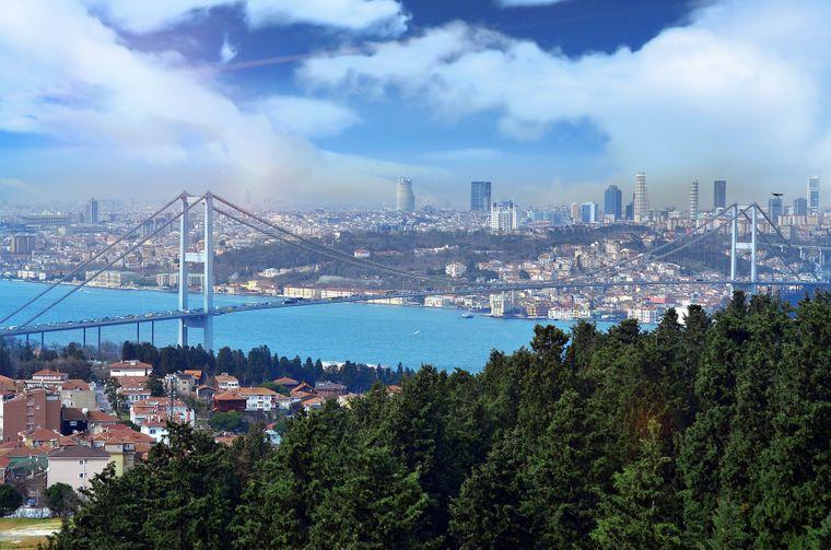 Platz 8: Türkei (37,6 Millionen Ankünfte).